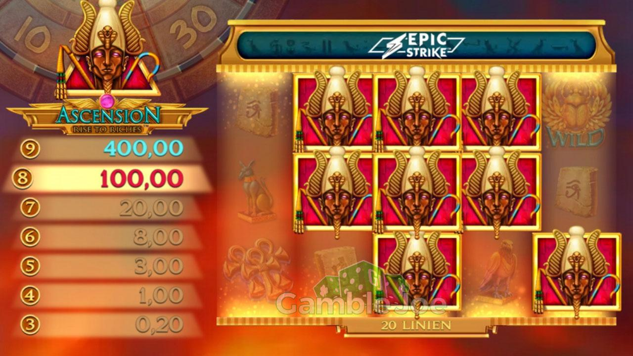Double Points on Ascension Rise to Riches
