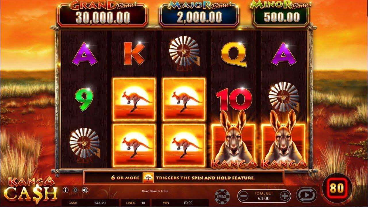 40 Free Spins on Kanga Cash at Miami Club Casino