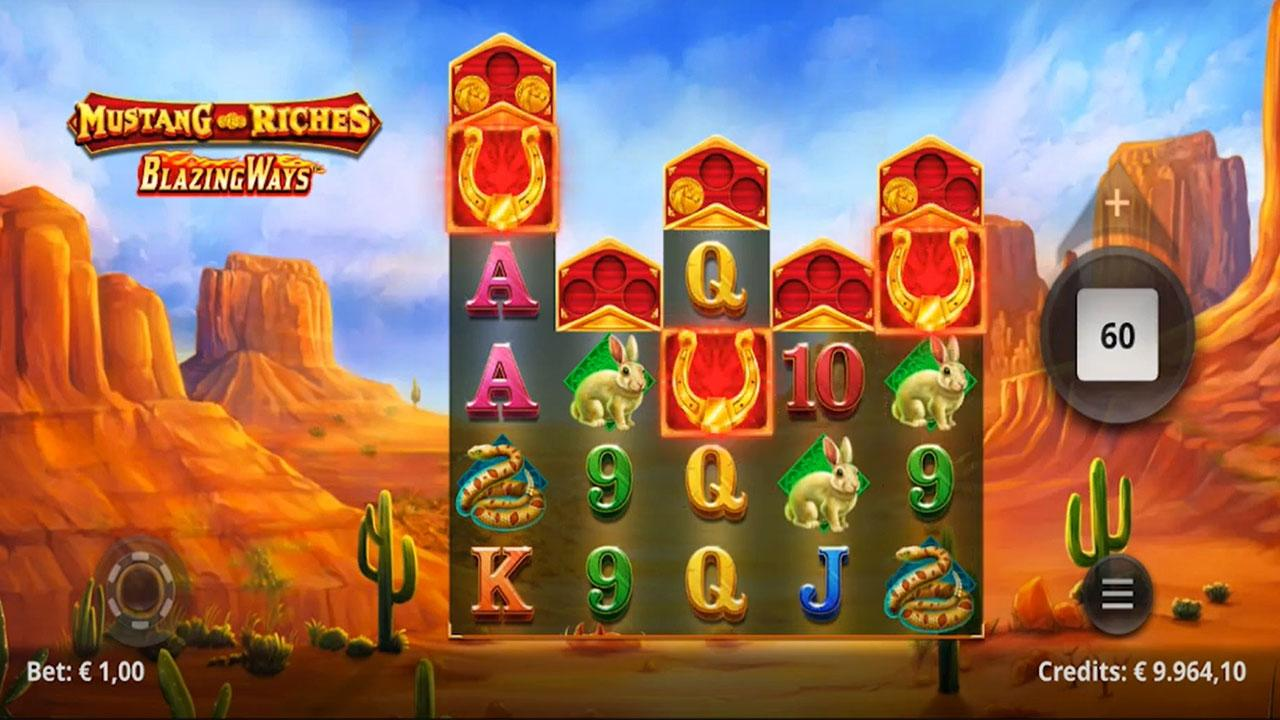 Play Mustang Riches and WIN $100